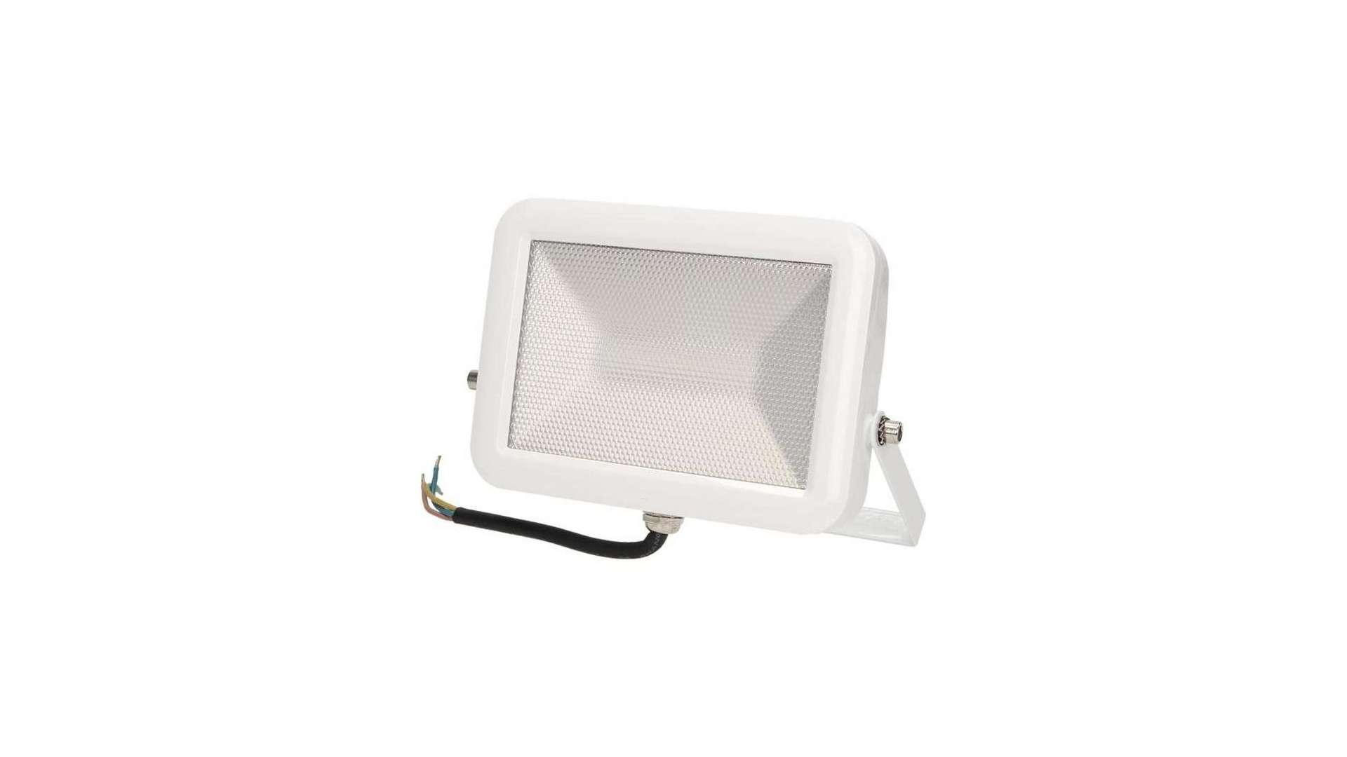 Naświetlacz 20W LED Neutral SLIM, biały