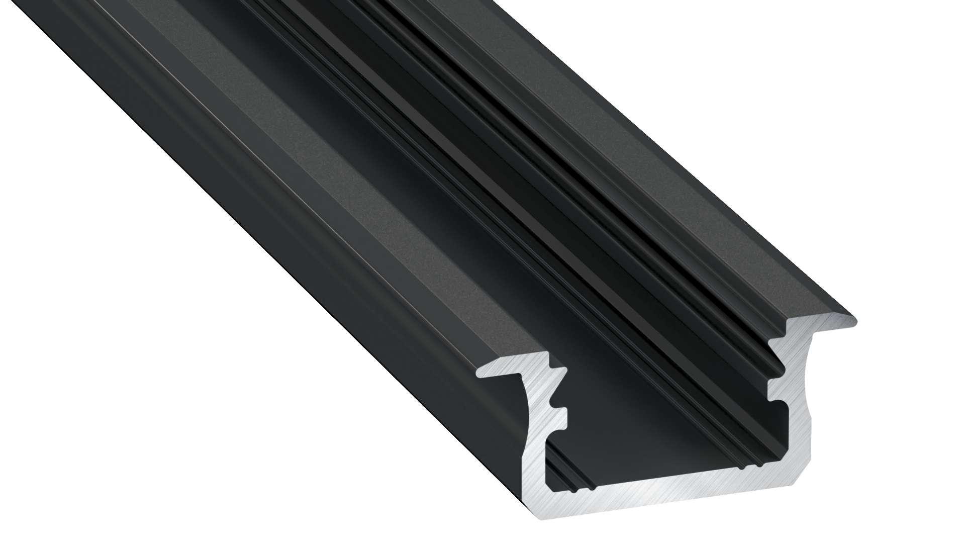 Profil LUMINES typ B czarny anod. 2,02 m