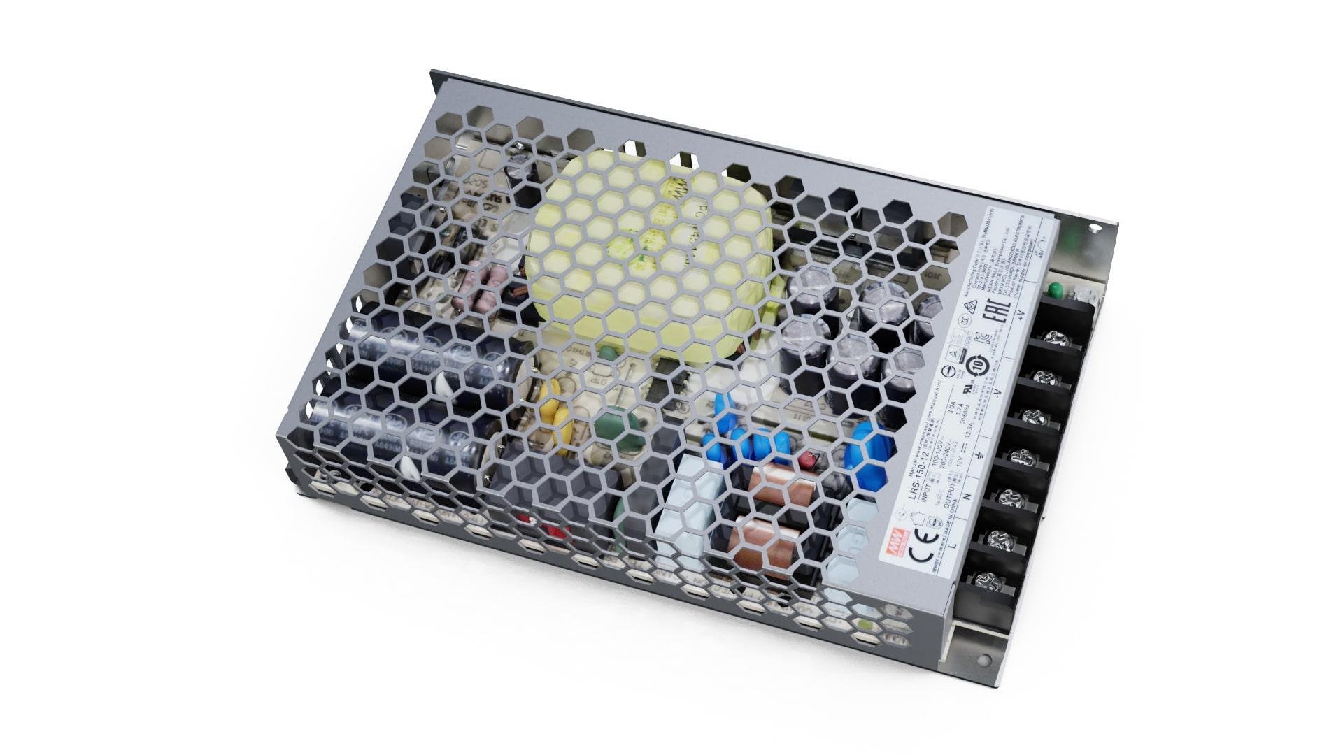 Zasilacz modułowy MEAN WELL LRS 12V 150W IP20