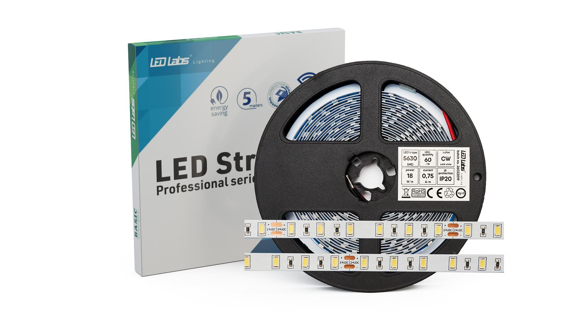 Taśma PRO 3YB 24V 300 LED 5630 SMD 16W CW