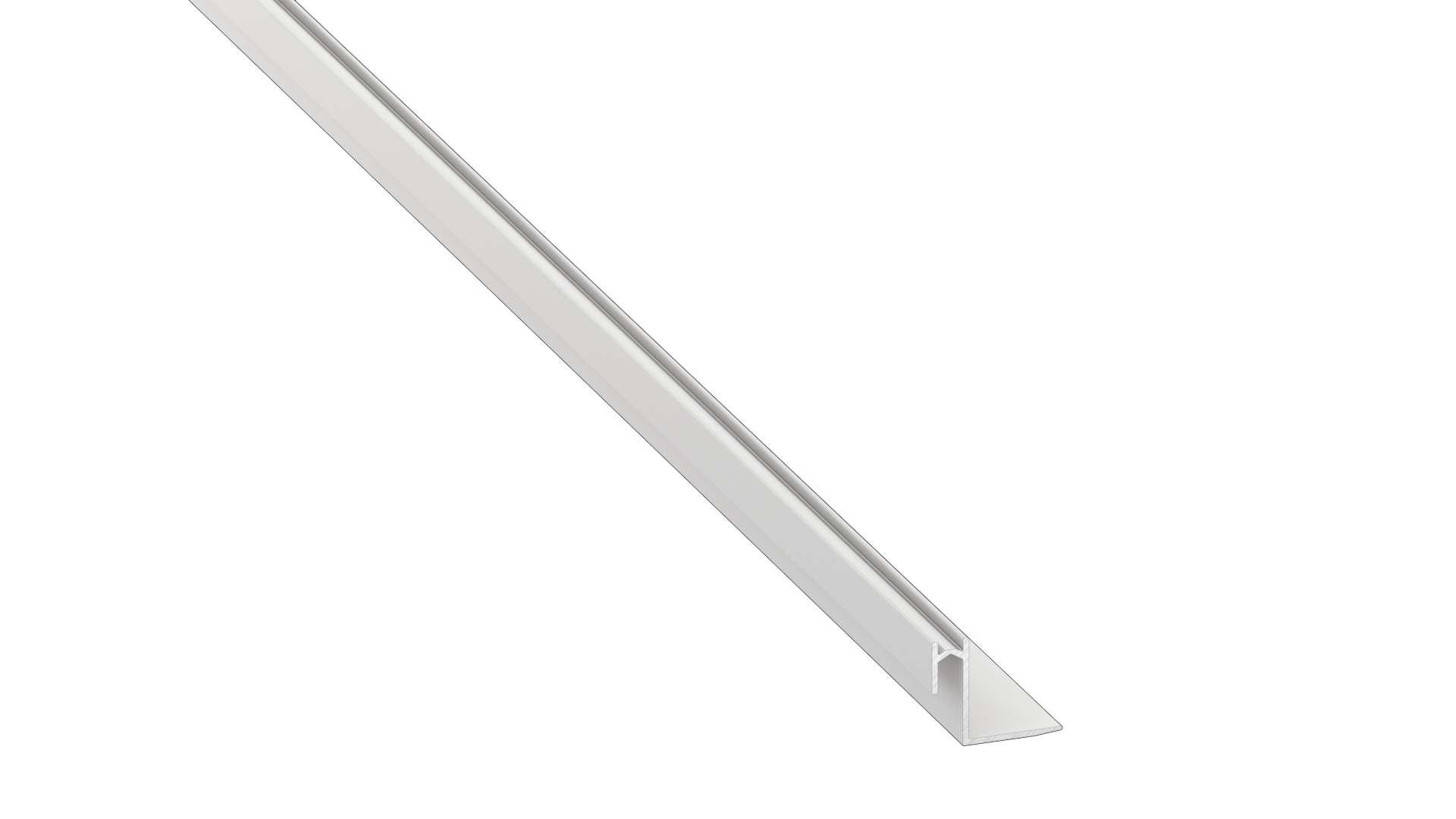 Profil LUMINES typ Roset biały lakier. 1 m