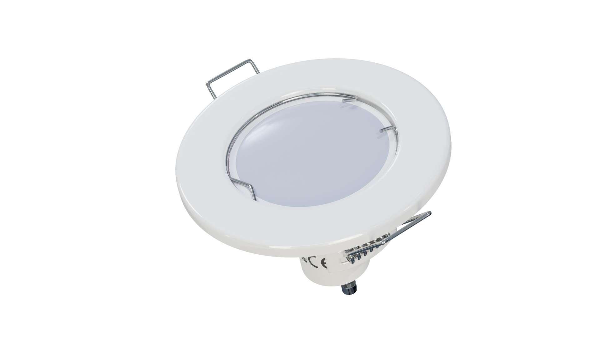 Oprawa SARA okrągła stała biała