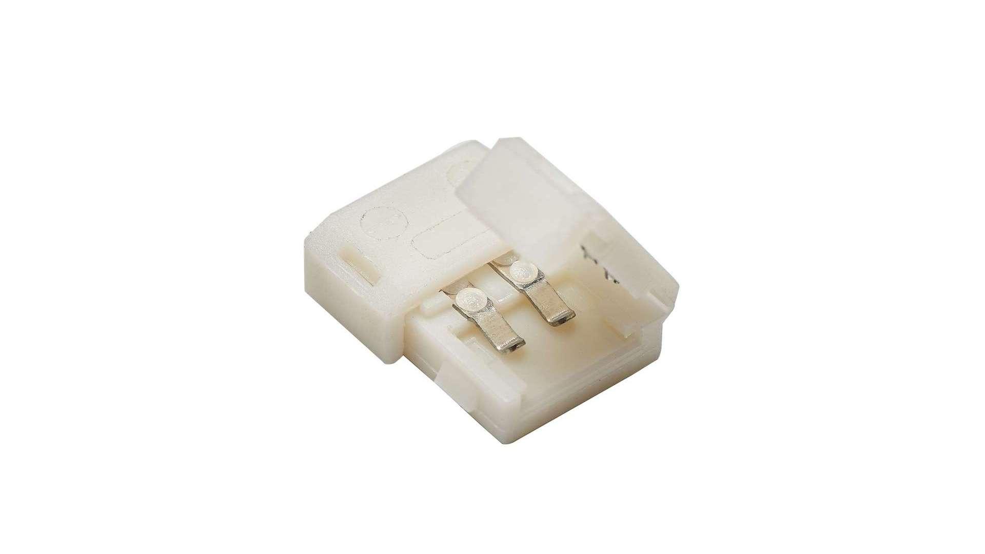 Złącze taśmy LED 8mm 2-stronne z zatrzaskami