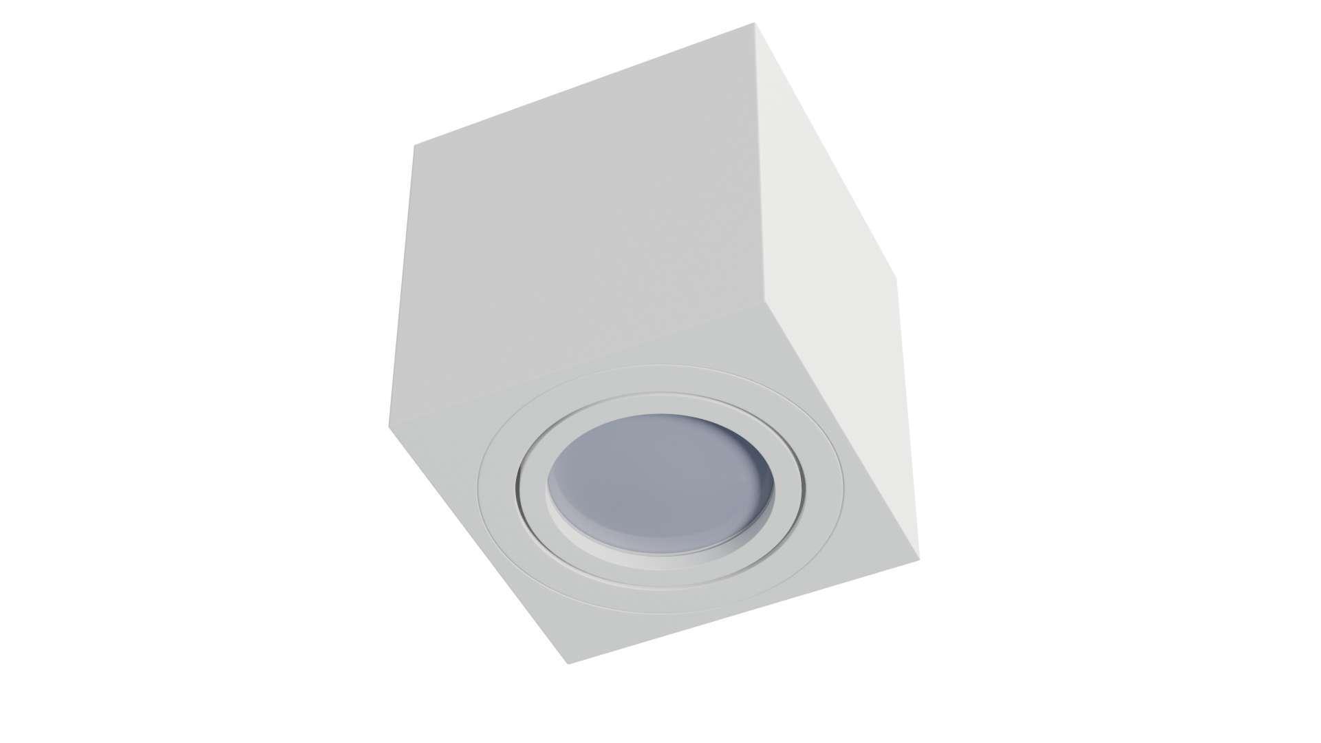Oprawa natynkowa NORD kwadrat biała