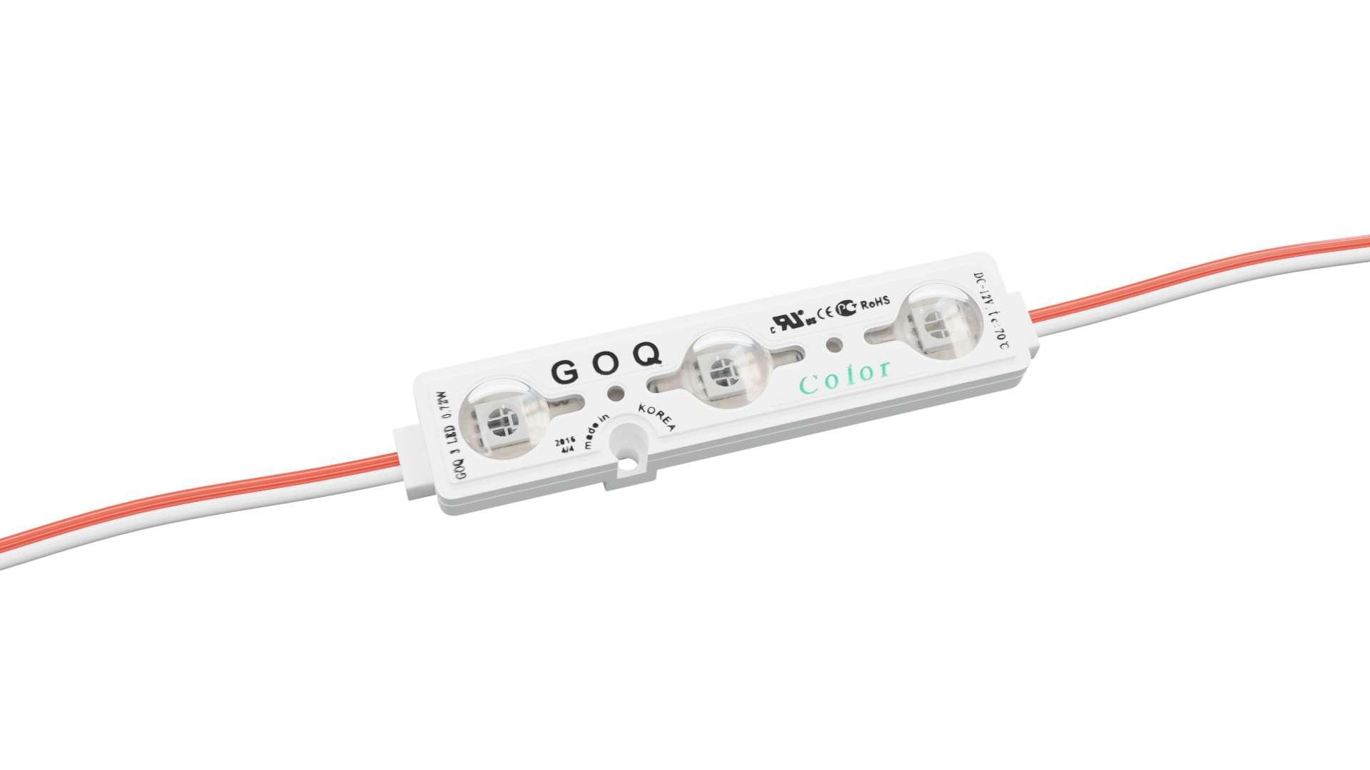Moduł GOQ SAMSUNG 3xLED 150 stopni Zielony