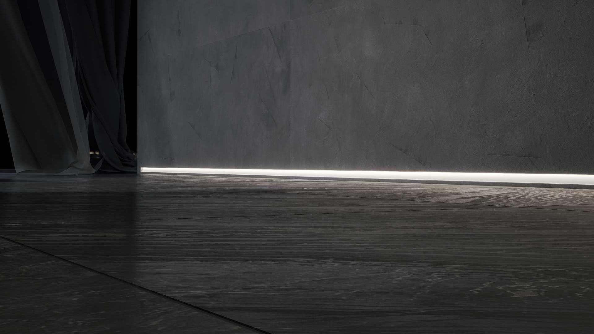Profil LUMINES typ Tiano biały lakier. 1 m