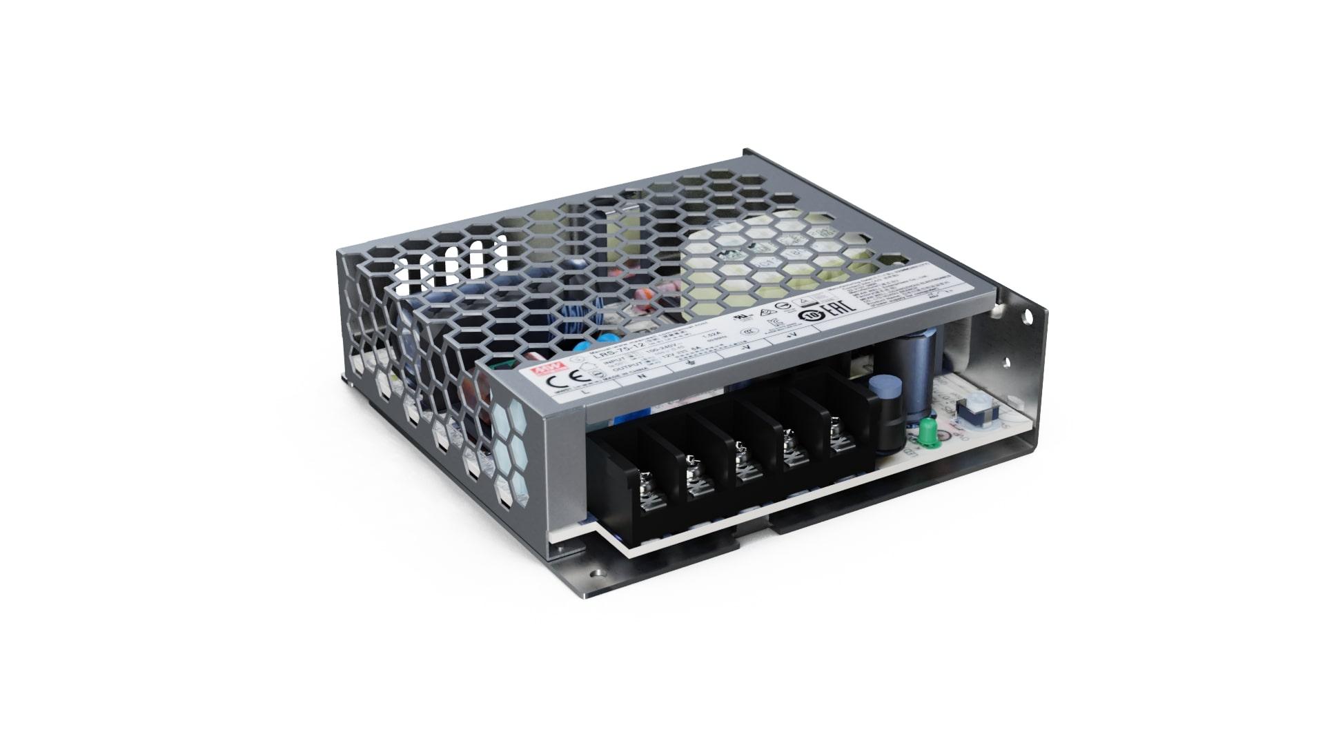 Zasilacz modułowy MEAN WELL LRS 12V 75W IP20