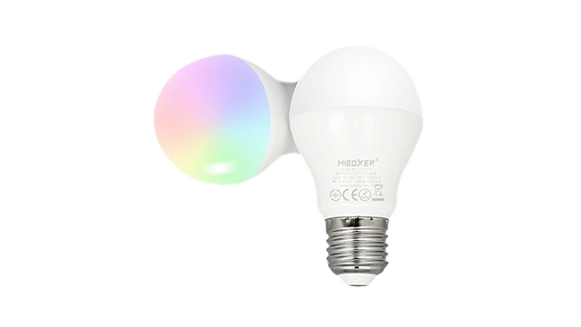 Źródło LED E27 6W A60 RGB+CCT MiBOXER