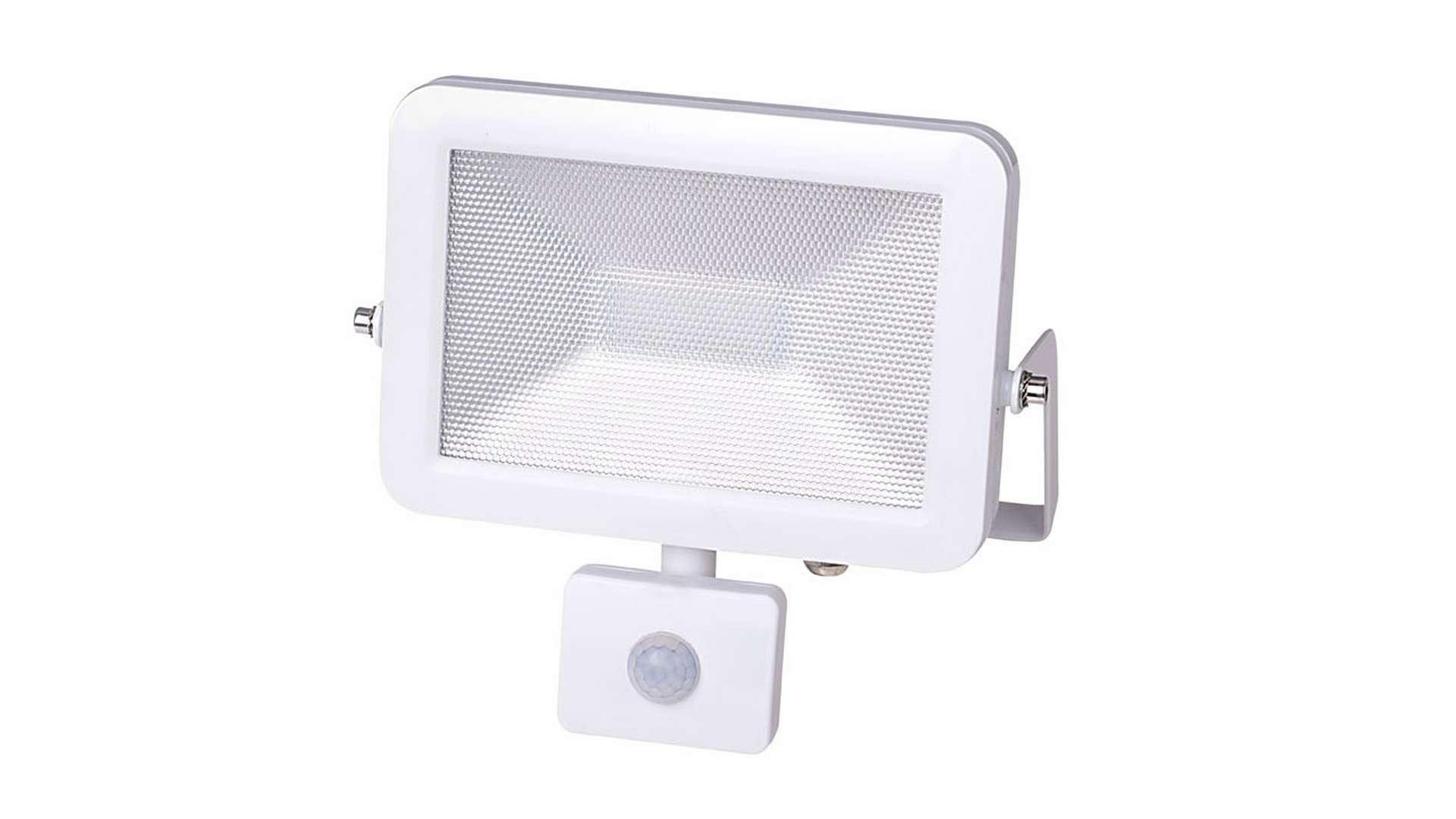 Naświetlacz 20W LED Neutral SLIM, biały PIR