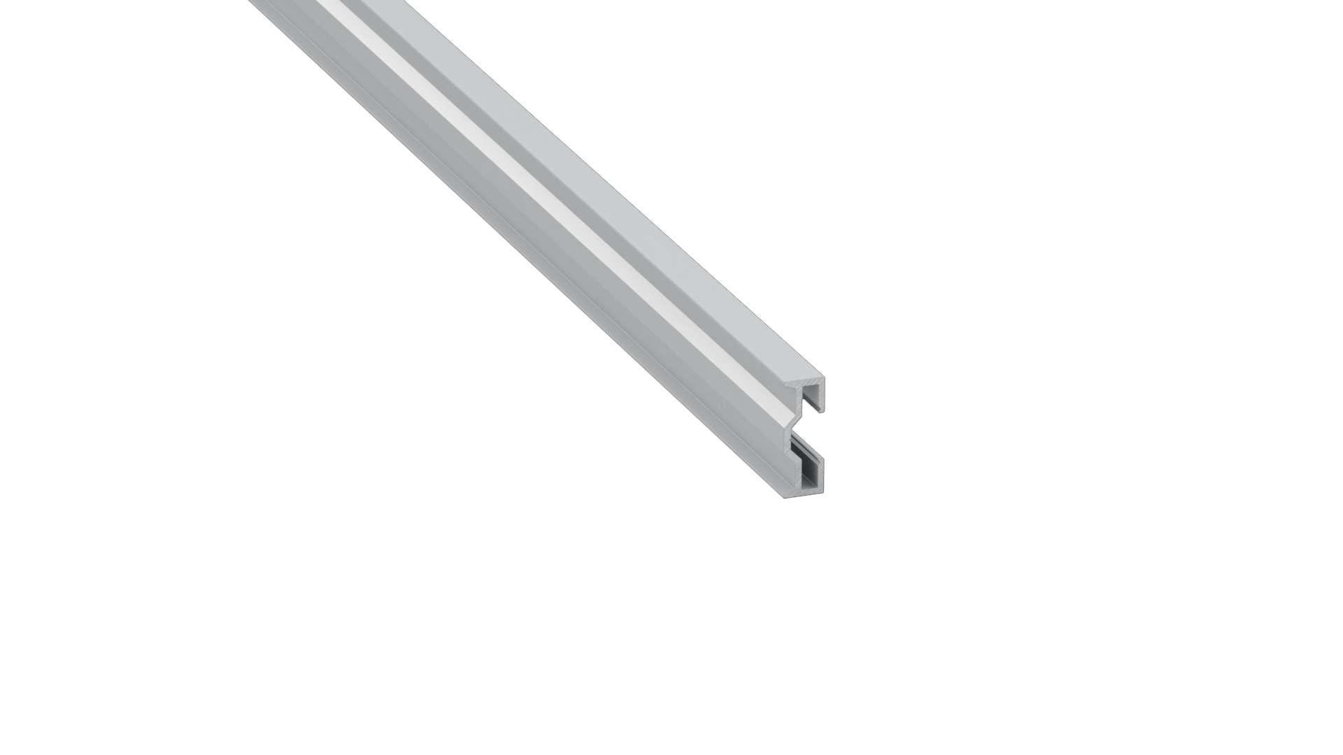 Profil LUMINES typ Sparo srebrny anod. 1 m