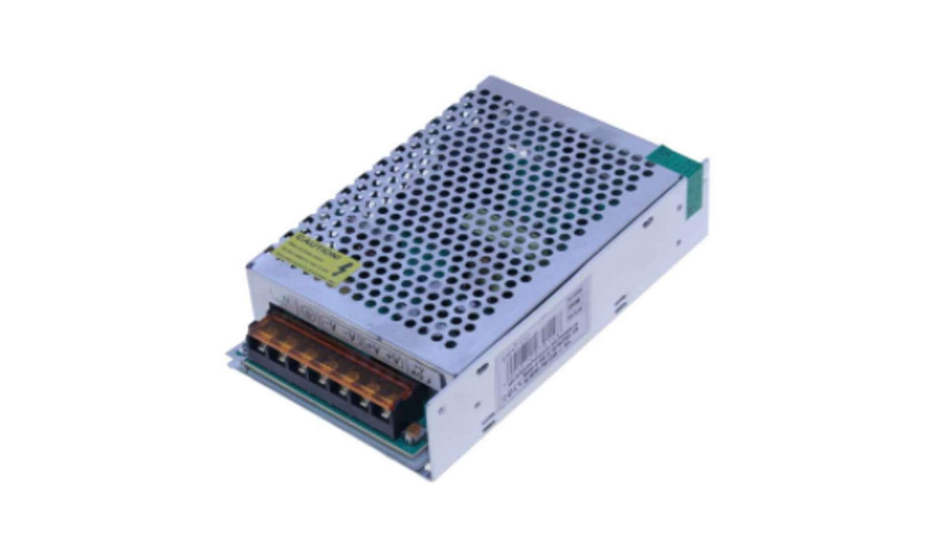 Moduł zasilacza montażowy 12V 150W IP20
