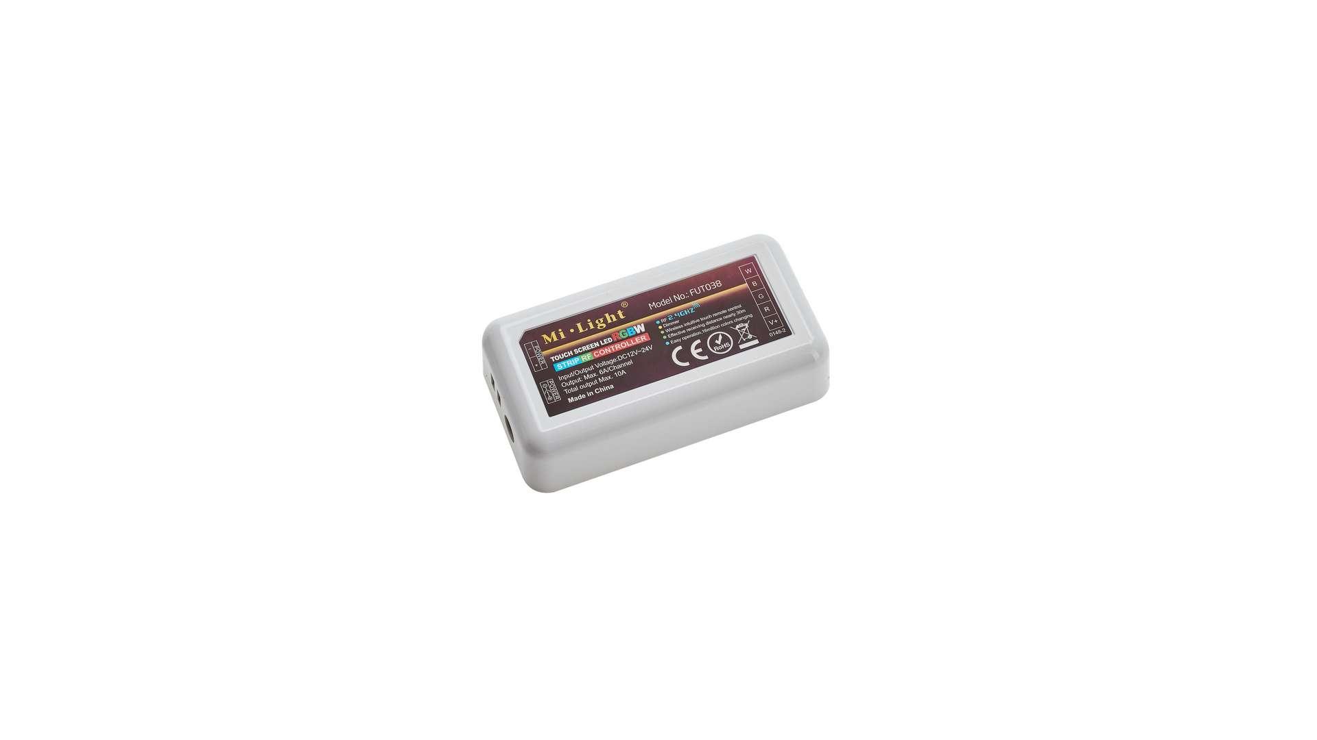 MiBOXER ODBIORNIK 10A RF 2.4G 4 STREFOWY RGB+W