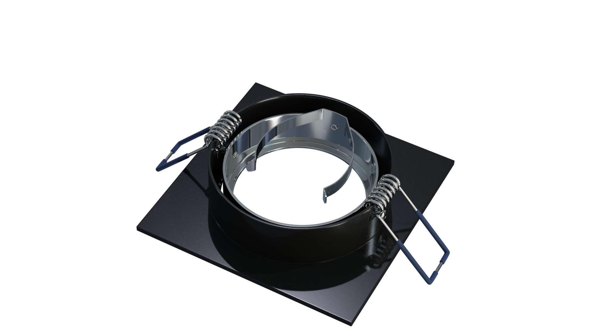 Oprawa GABI kwadrat ruchoma czarna szczot.