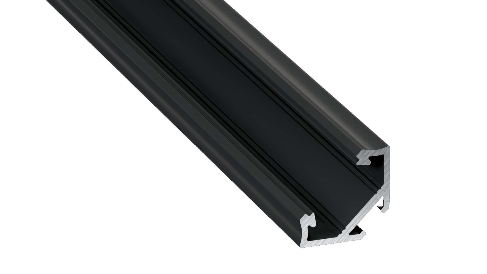 Profil LUMINES typ C czarny anod. 2,02 m