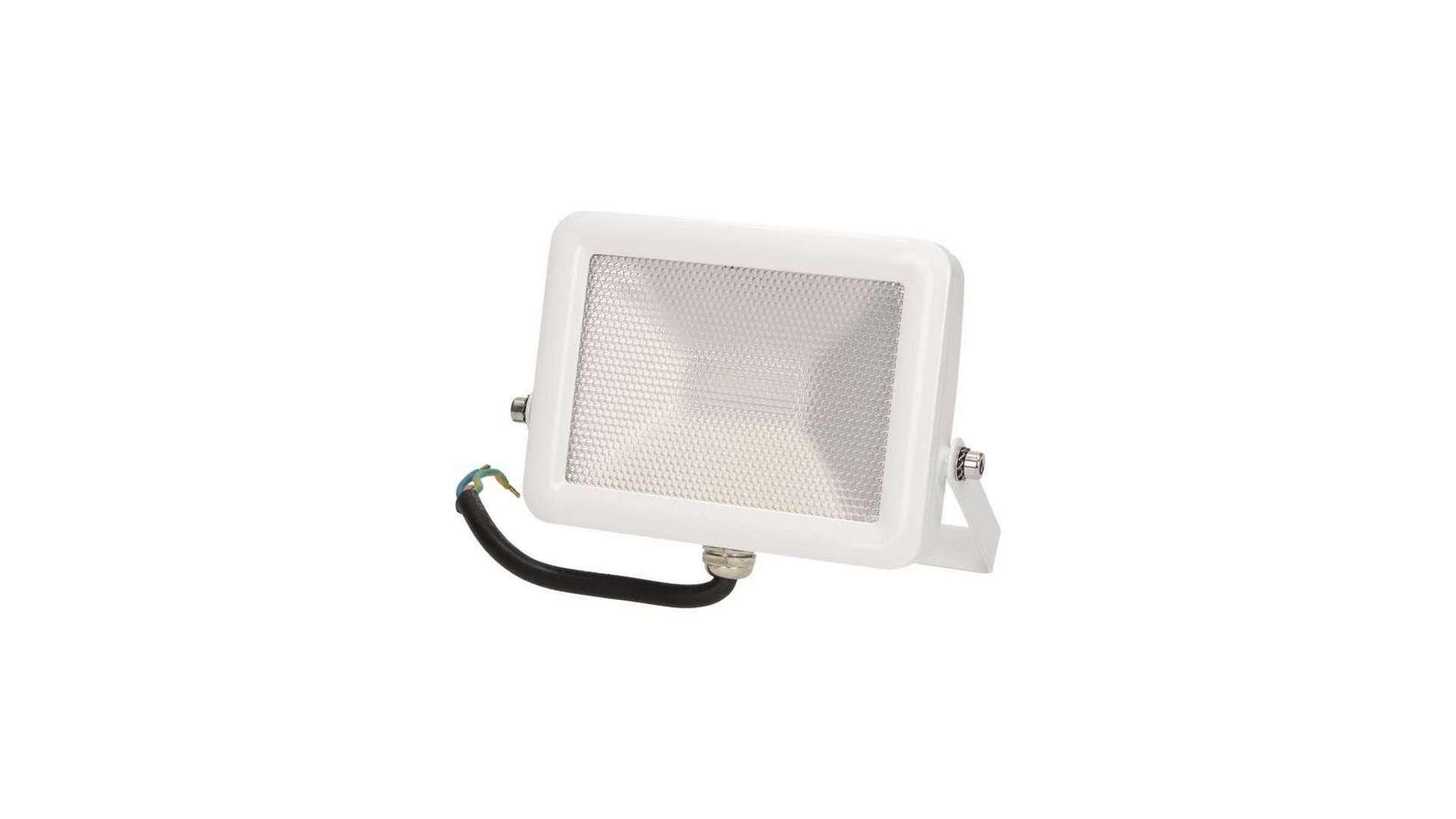 Naświetlacz 10W LED Neutral SLIM, biały