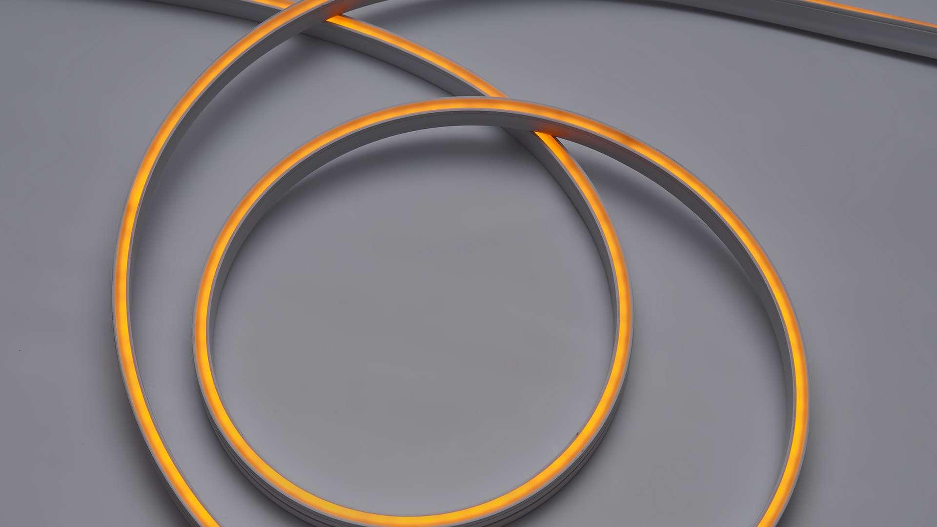 LED Neon Flex 3Y 4x10 140 LED/m 12W/m 24V YELLOW