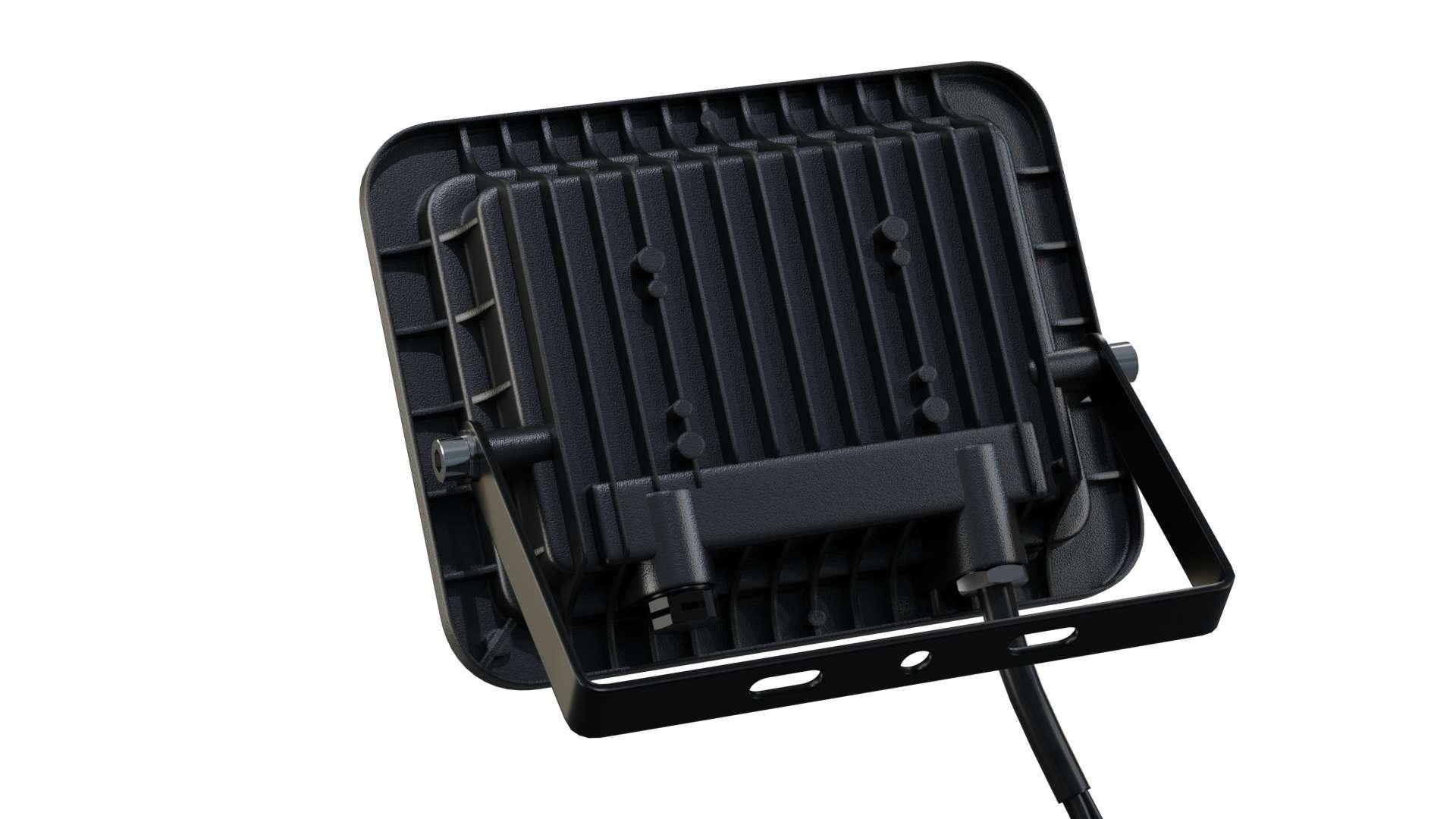Naświetlacz LED 3Y 30W NW SMD IP65 SLIM, czarny