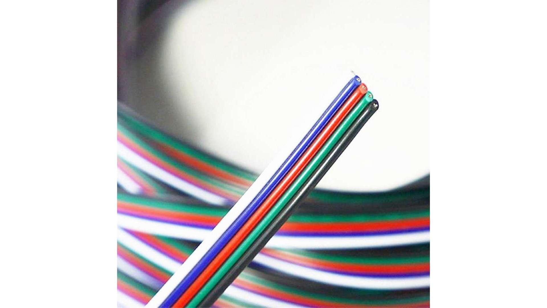 Przewód do taśm RGBW 5x0,35mm2