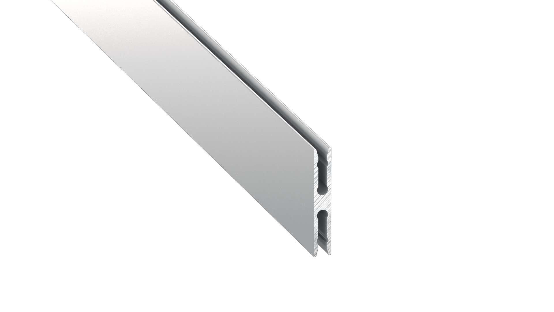 Profil LUMINES typ Metro srebrny anod. 1 m