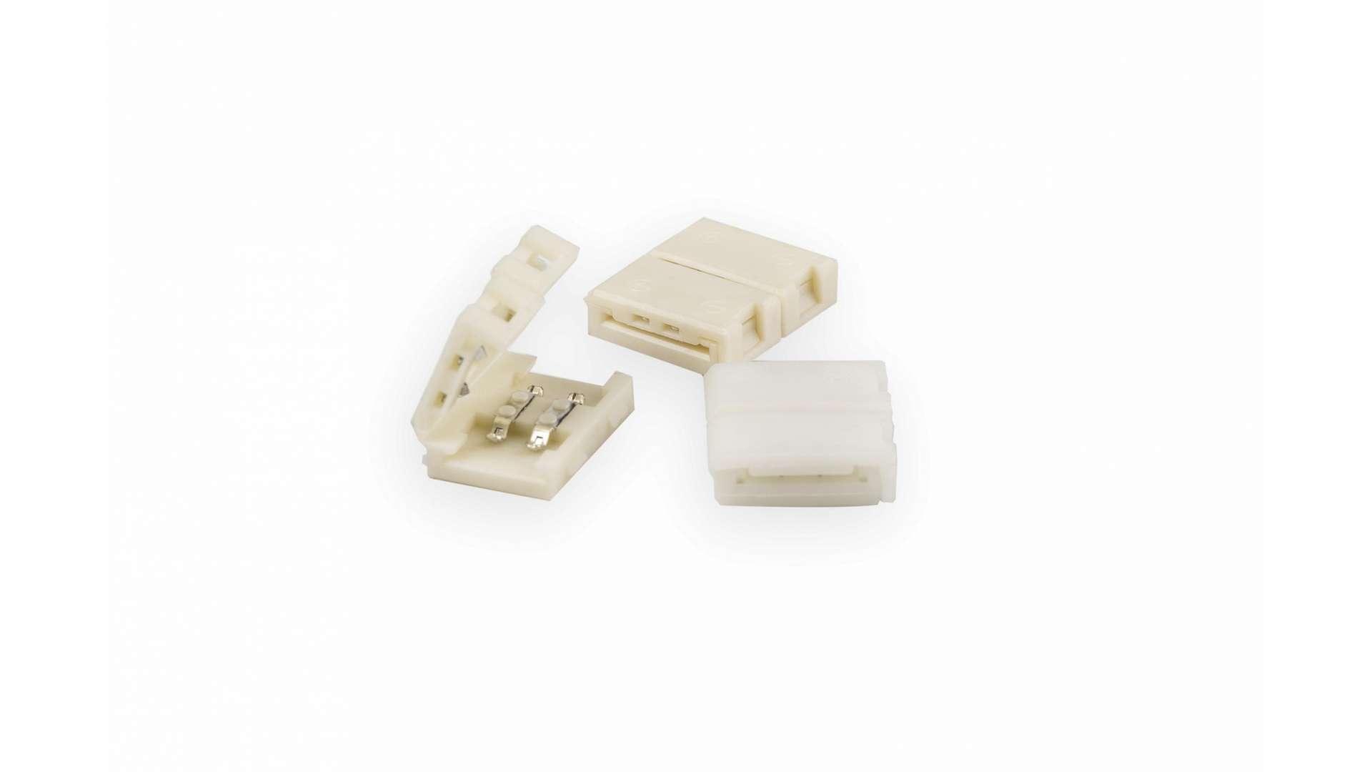 Złącze taśmy LED 10mm 2-stronne z zatrzaskami