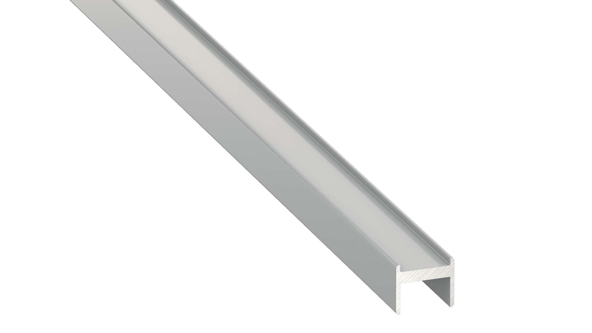 Profil LUMINES typ Y M1 srebrny anod. 2 m