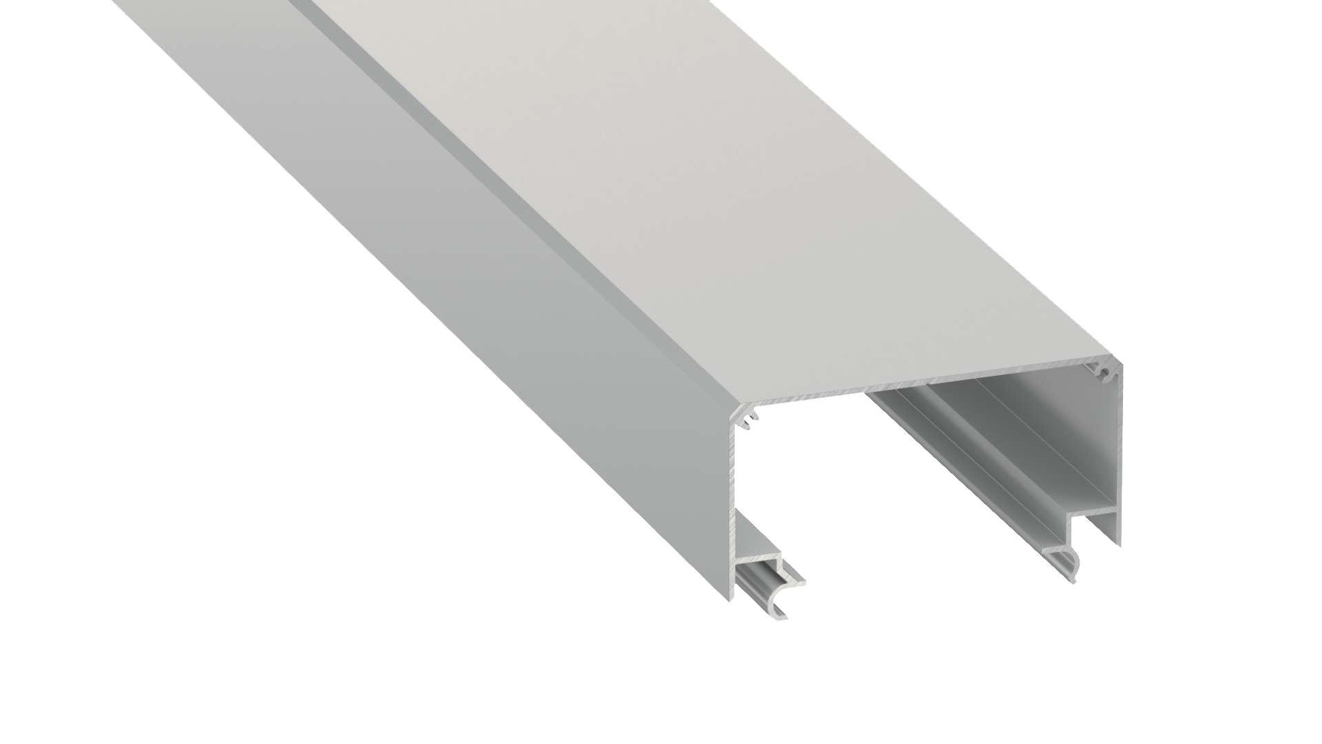 Profil LUMINES typ Largo M2 srebrny anod. 2,02 m