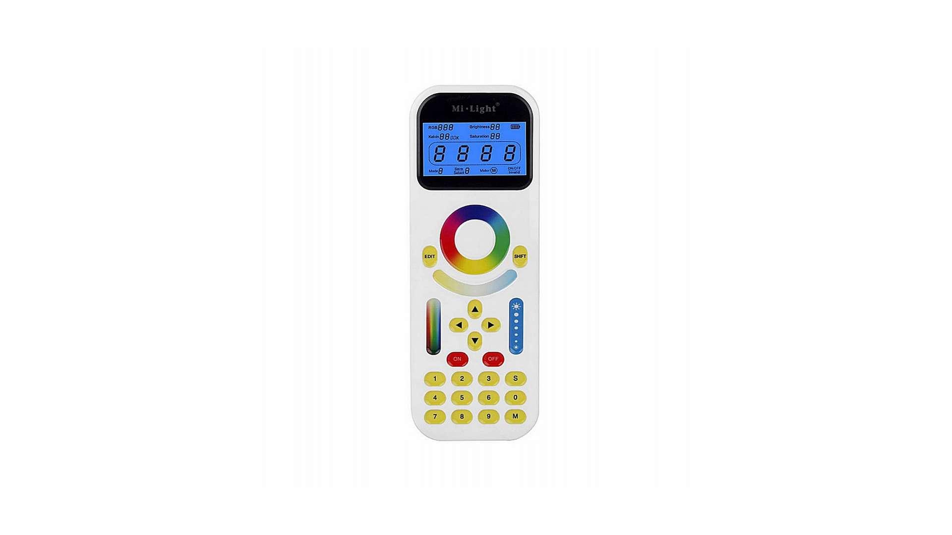 Pilot LED radiowy LCD - 99 stref - MONO /CCT /RGBW