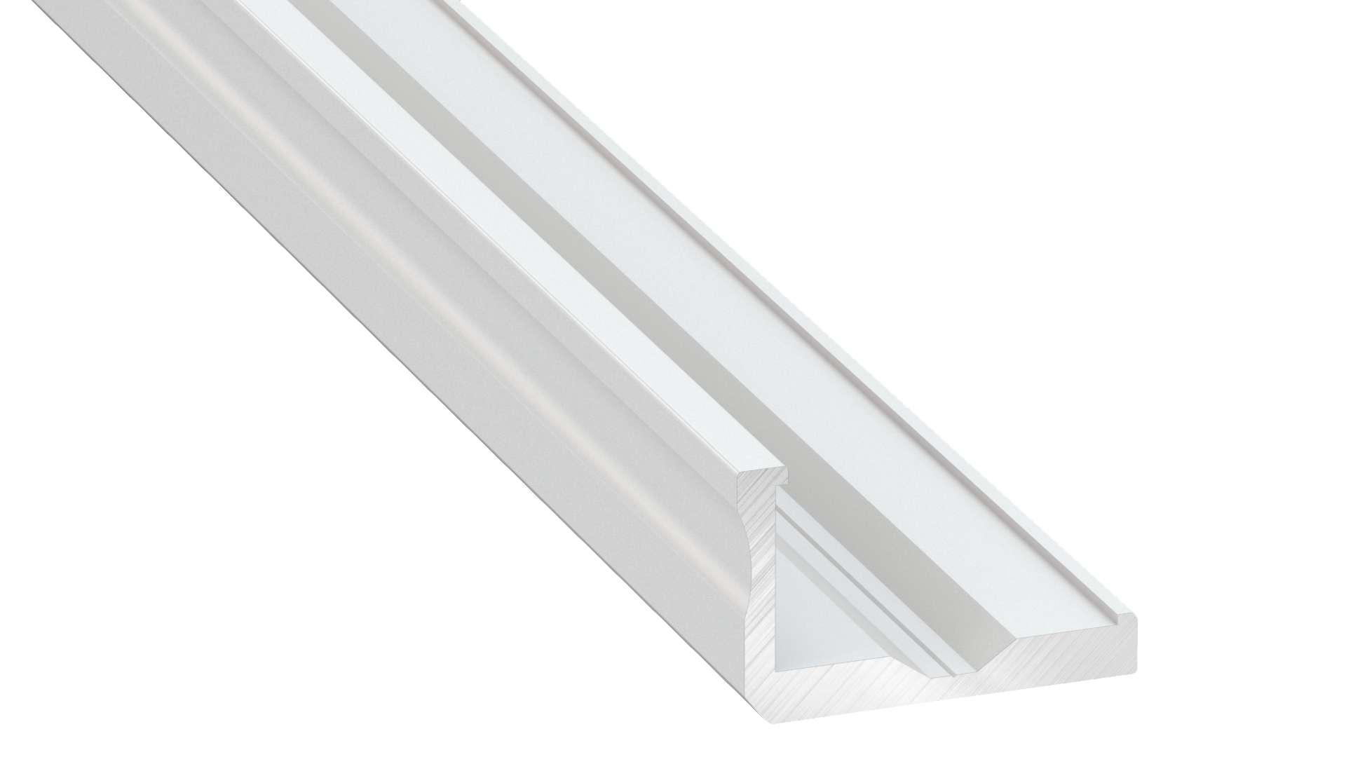 Profil LUMINES typ F biały lakier. 1 m