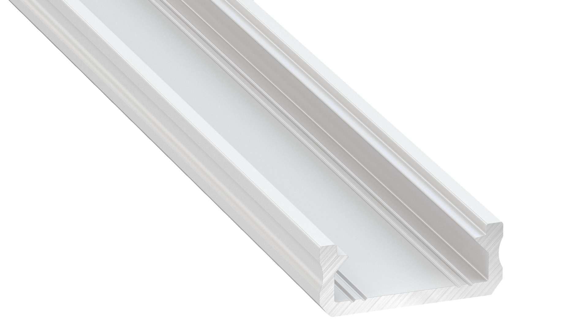 Profil LUMINES typ D biały lakier. 2,02 m