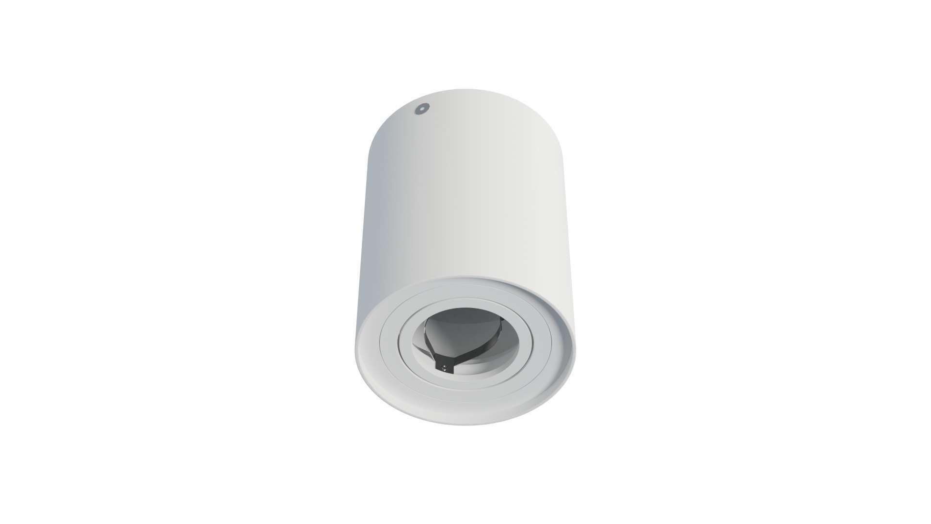 Oprawa natynkowa TUBE okrągła biała