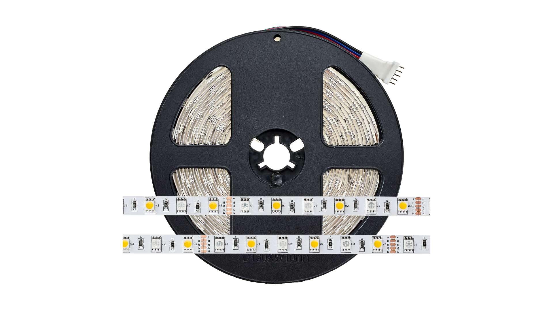 Taśma 300 LED 60 LED/m 5050 SMD, RGBCW