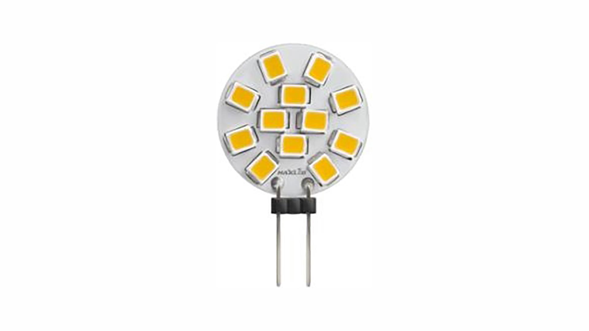 Źródło LED G4 2W Biała Ciepła 12V AC/DC