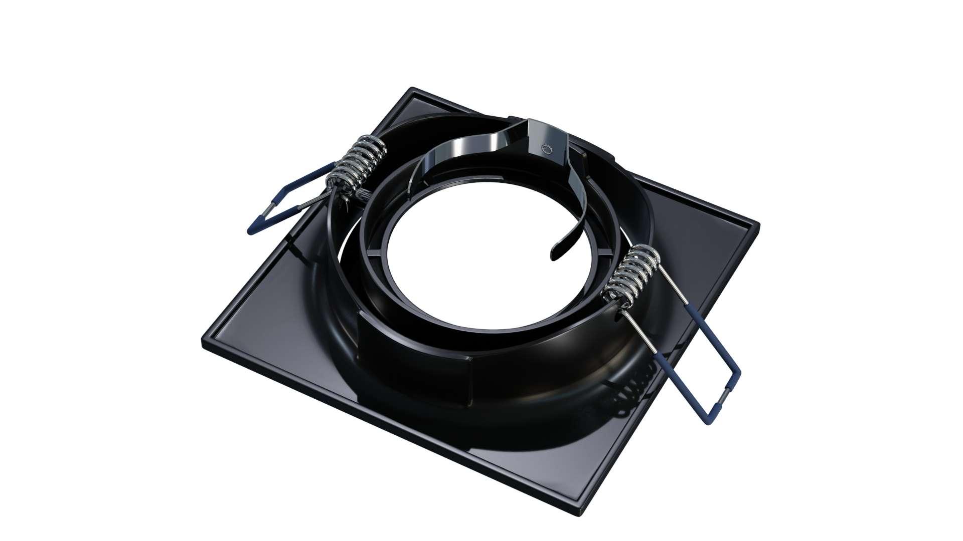 Oprawa TORN odlew kwadrat ruchoma mat. czarna