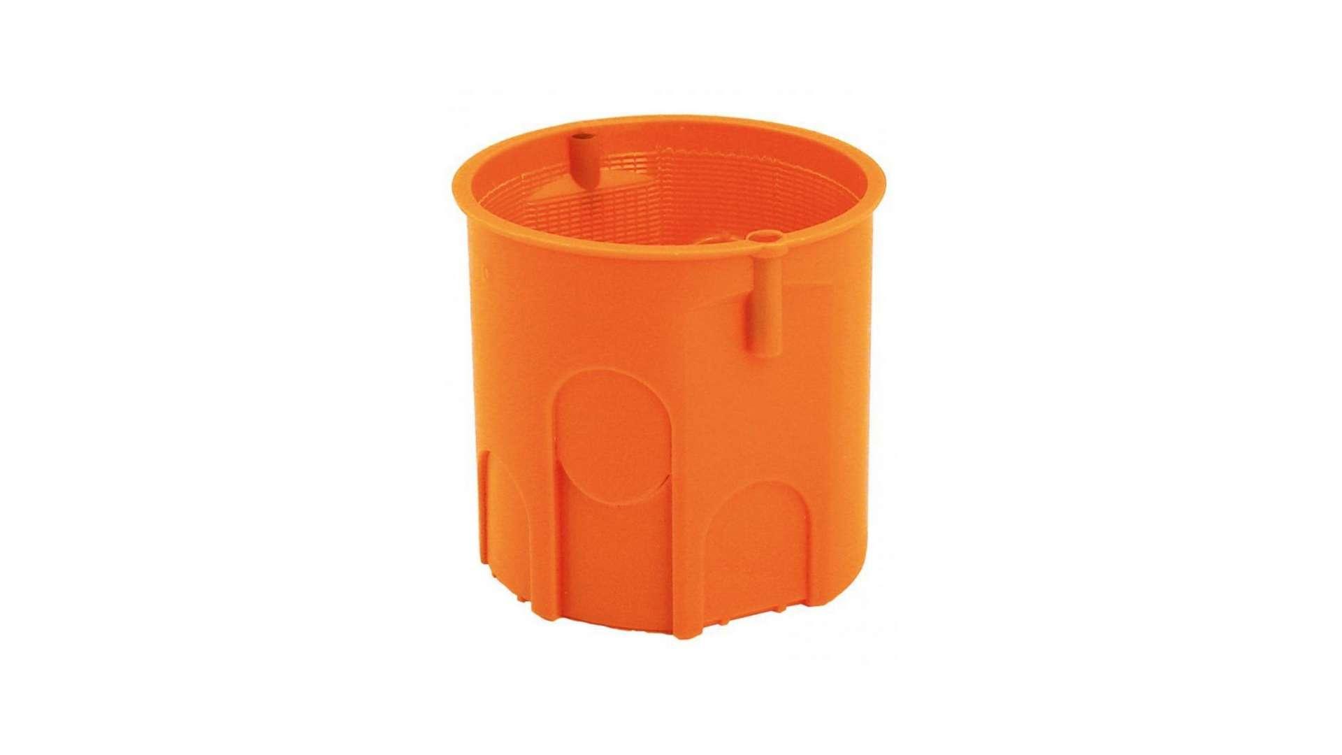 Puszka 60 głęboka zwykła pomarańczowa