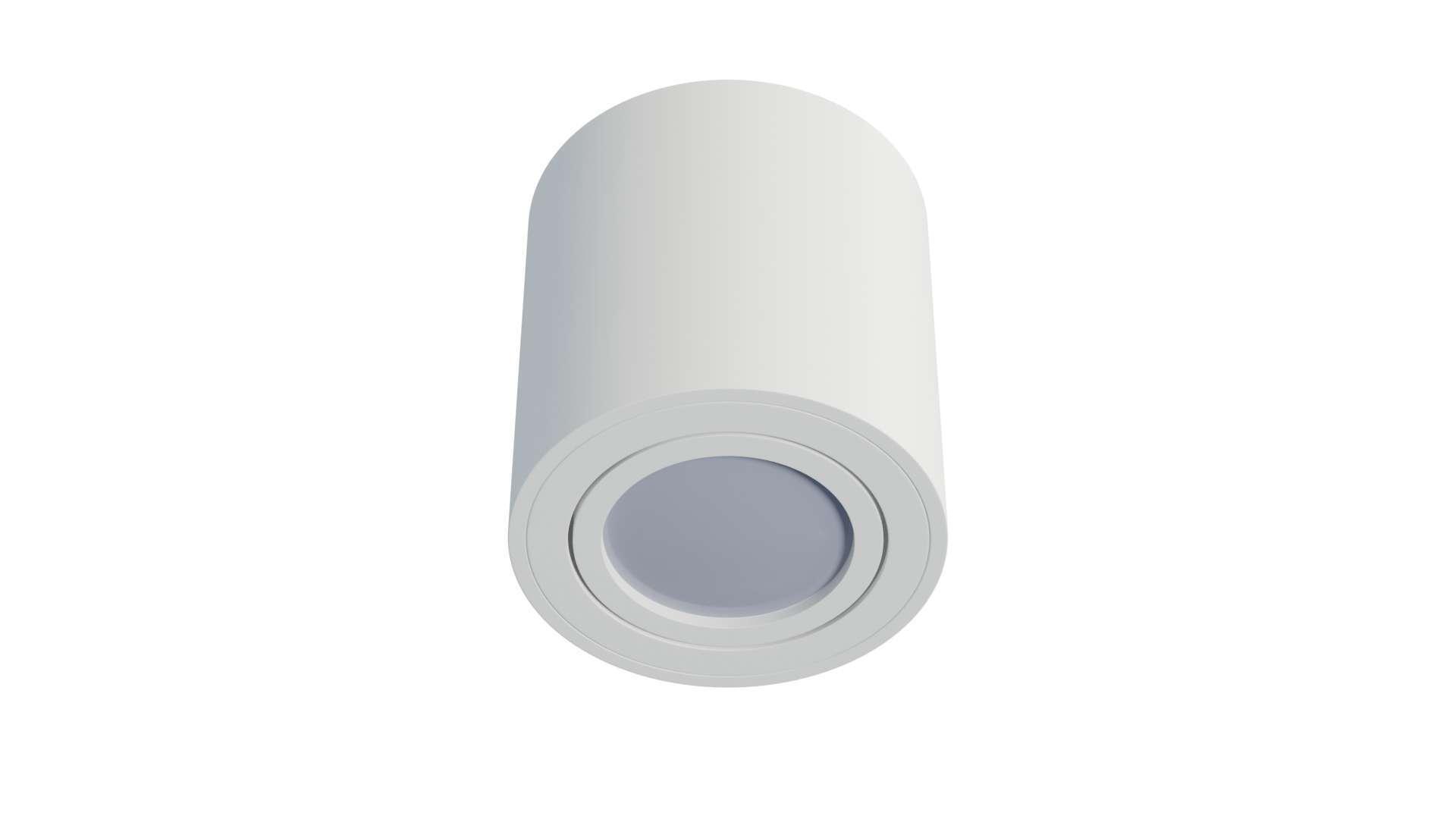 Oprawa natynkowa OREA okrągła biała