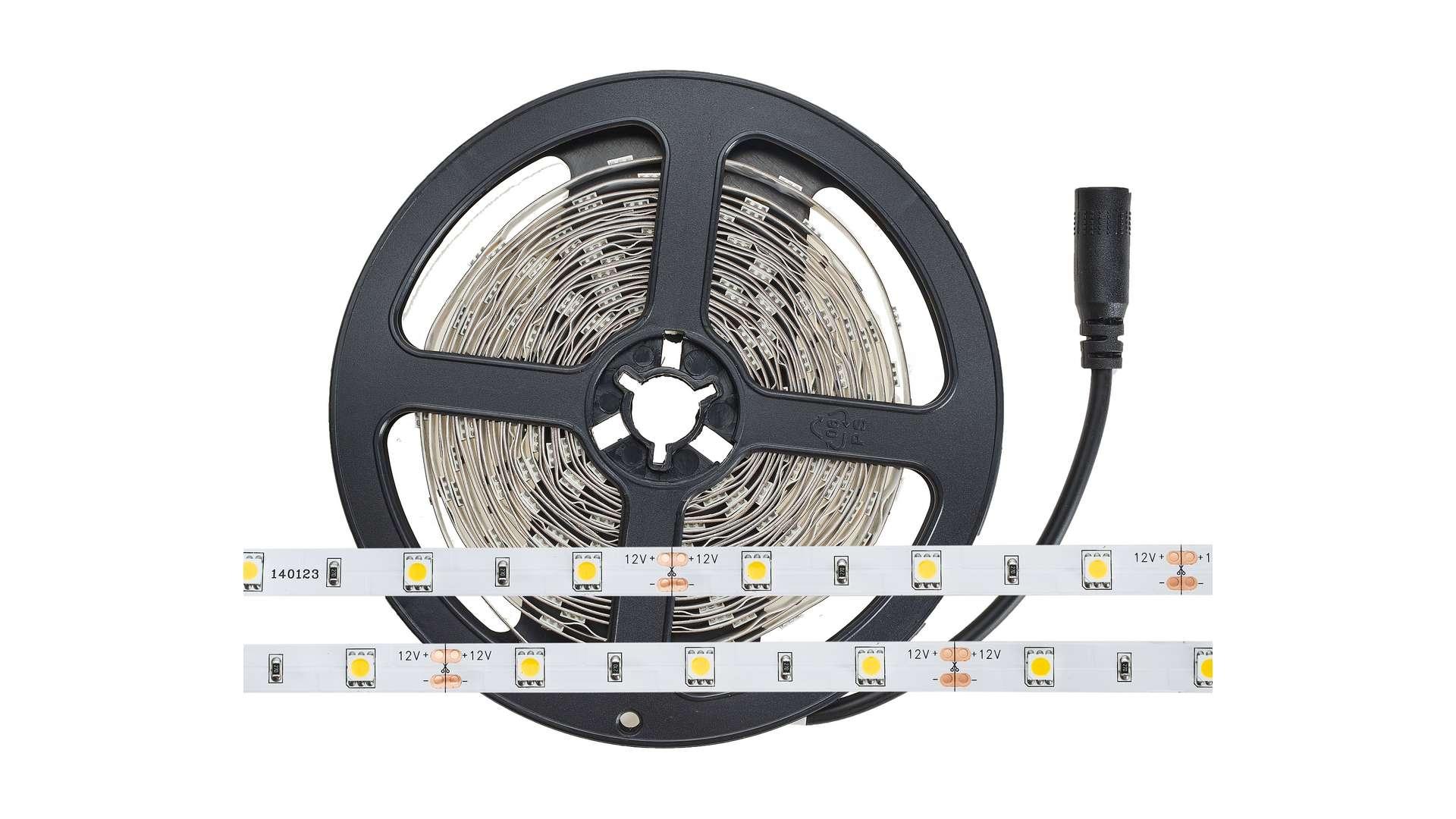 Taśma 150 LED 30 LED/m 5050 SMD, Biały Ciepły Wod.