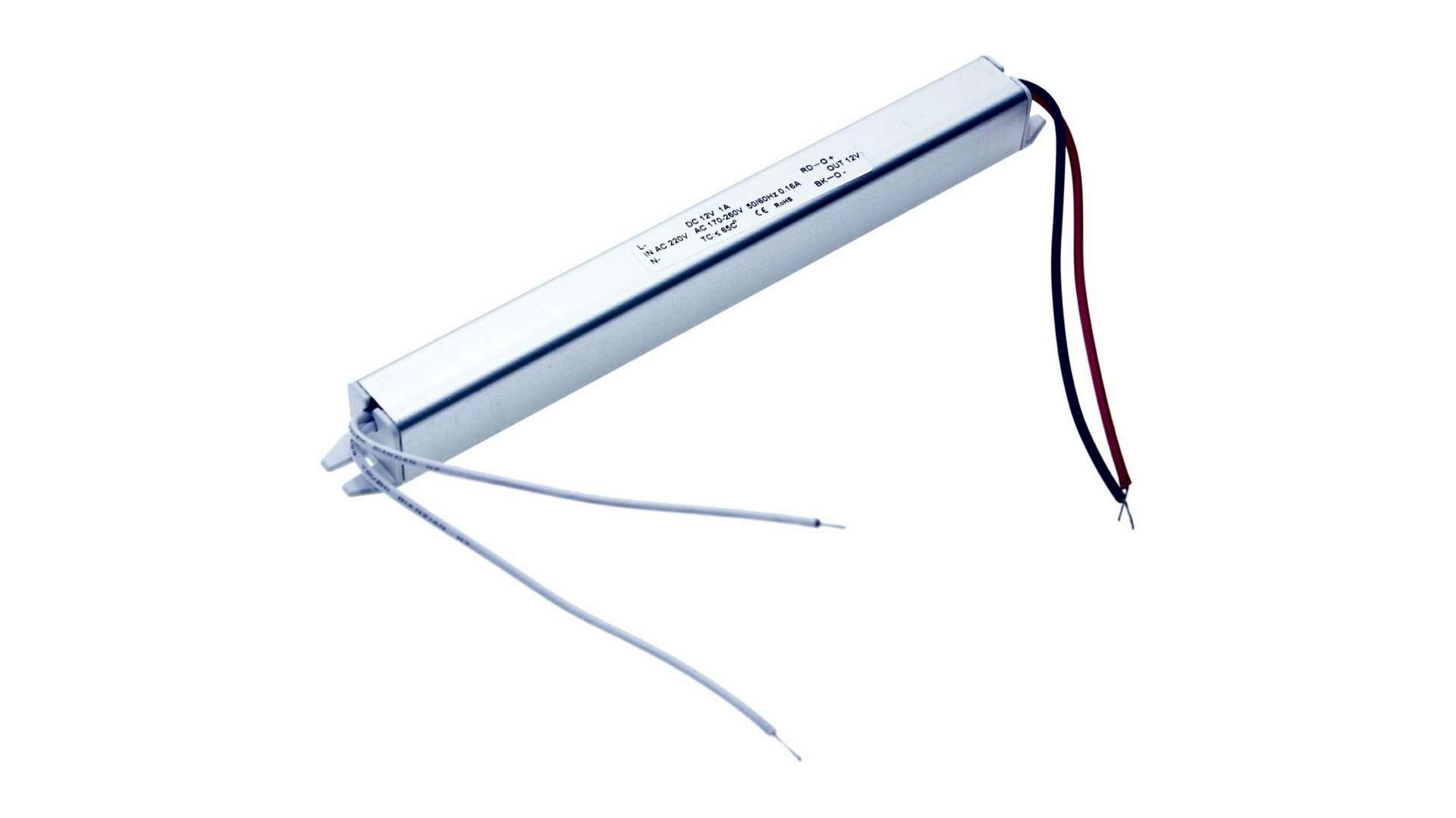 Moduł zasilacza meblowy MC 12V 12W IP20 ultra slim