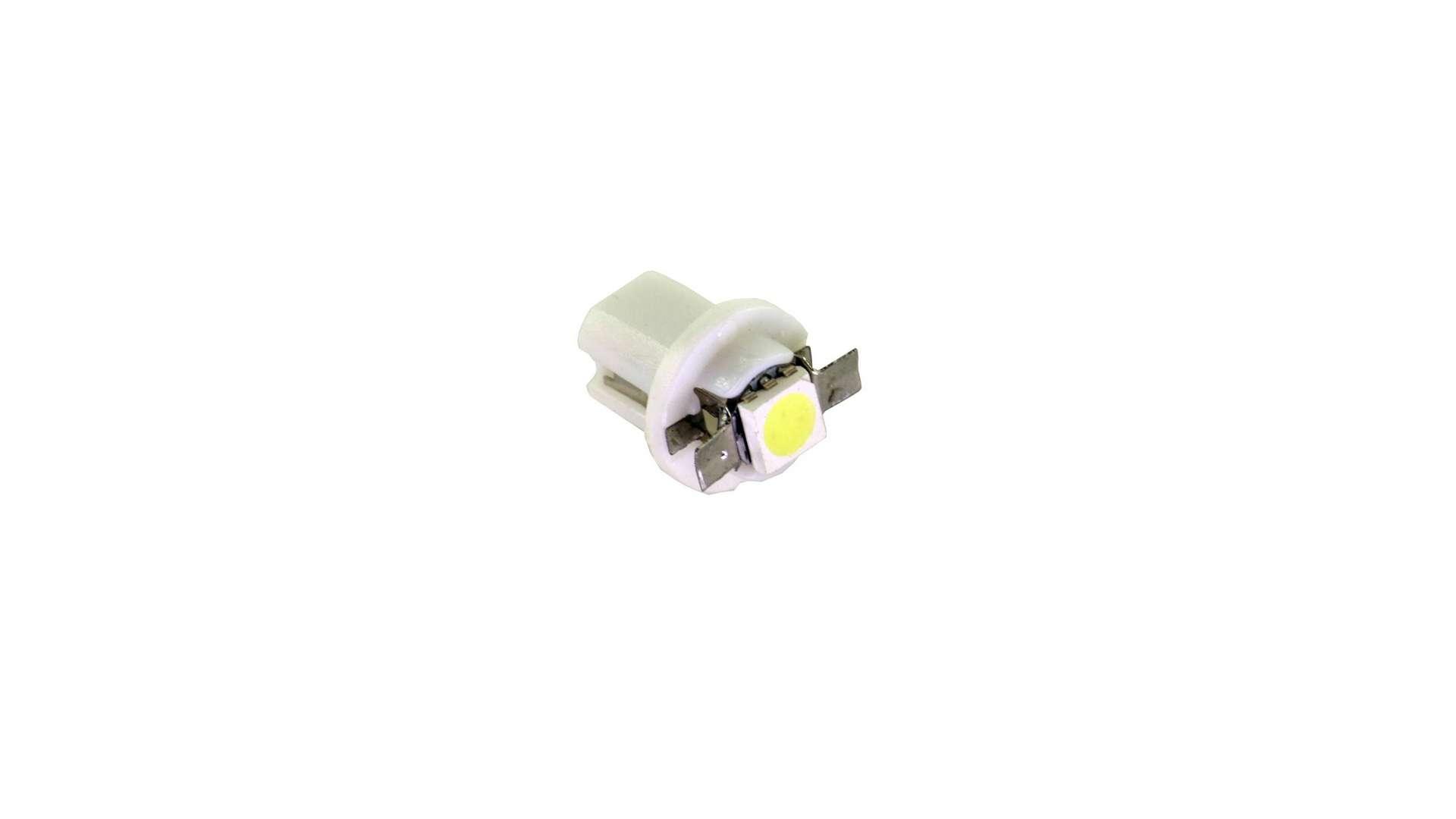 Dioda LED T5 Biała 1xSMD oprawka B8.5D