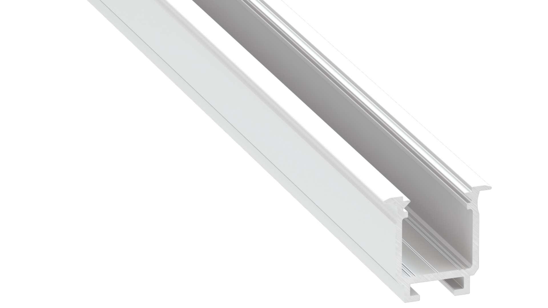 Profil LUMINES typ W biały lakier. 1 m