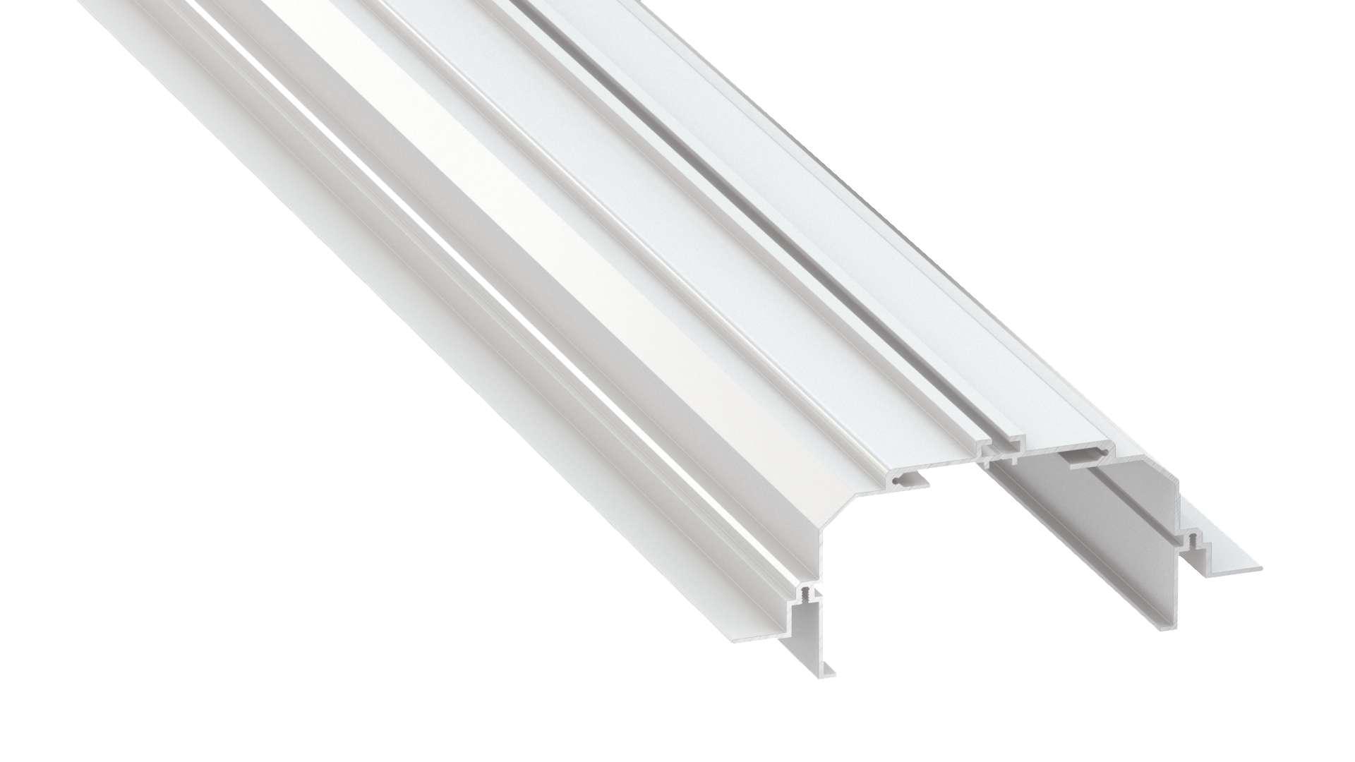 Profil LUMINES typ Largo M4 biały lakier. 1 m