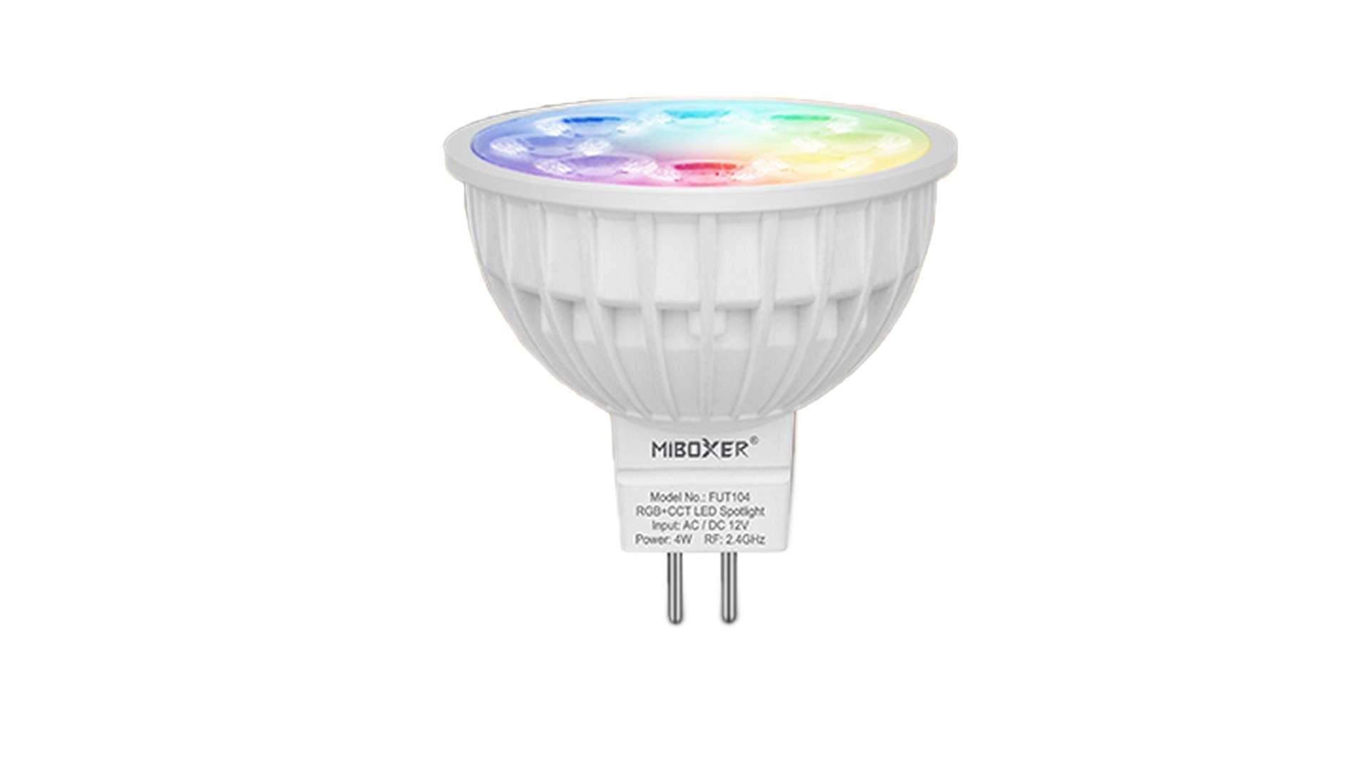 Źródło LED MR16 4W RGB+CCT MiBOXER