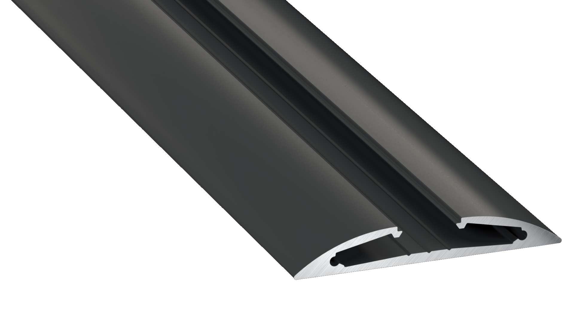 Profil LUMINES typ Reto czarny anod. 1 m