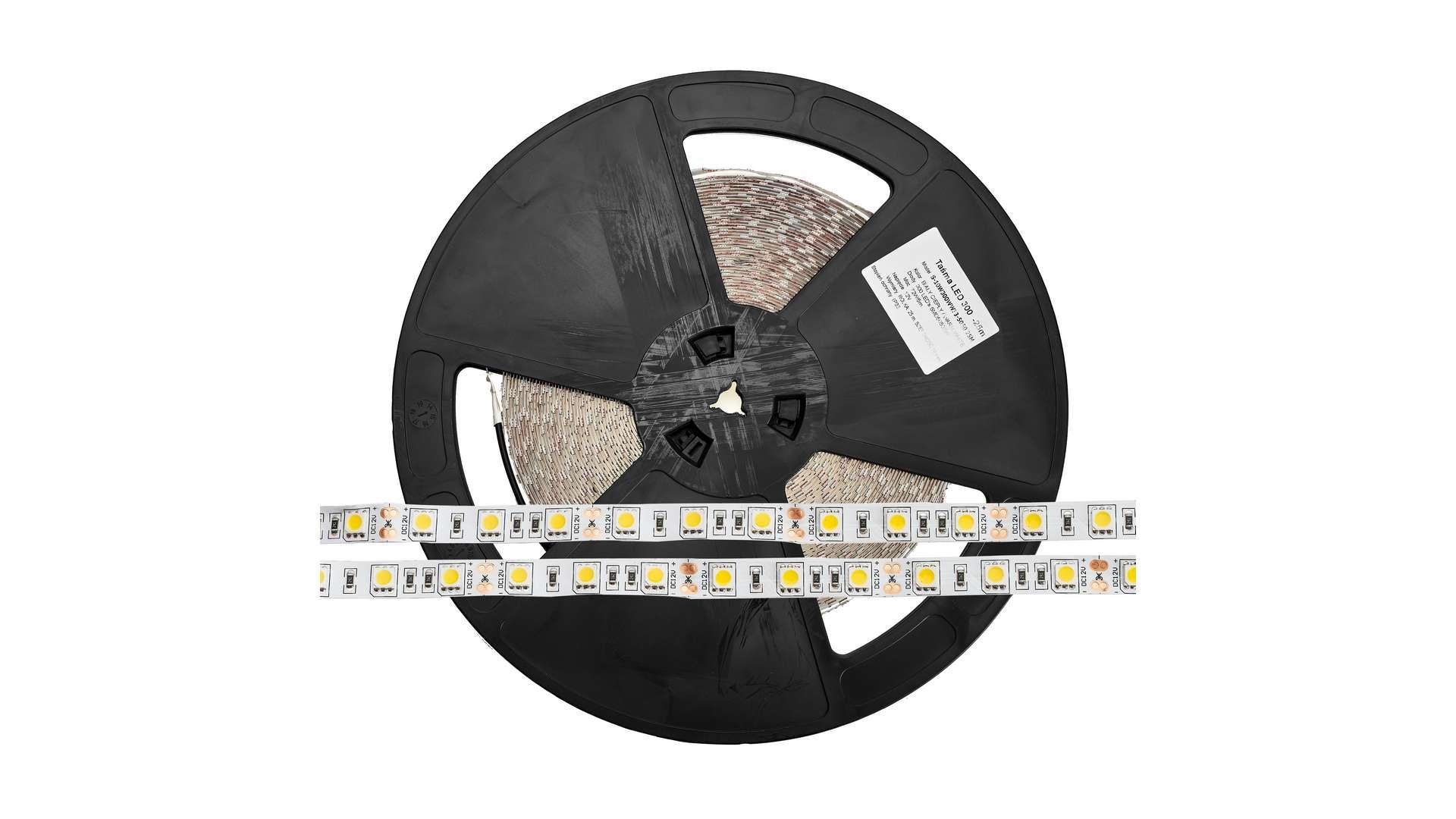 Taśma 150 LED 30 LED/m 5050 SMD RGB - 50m