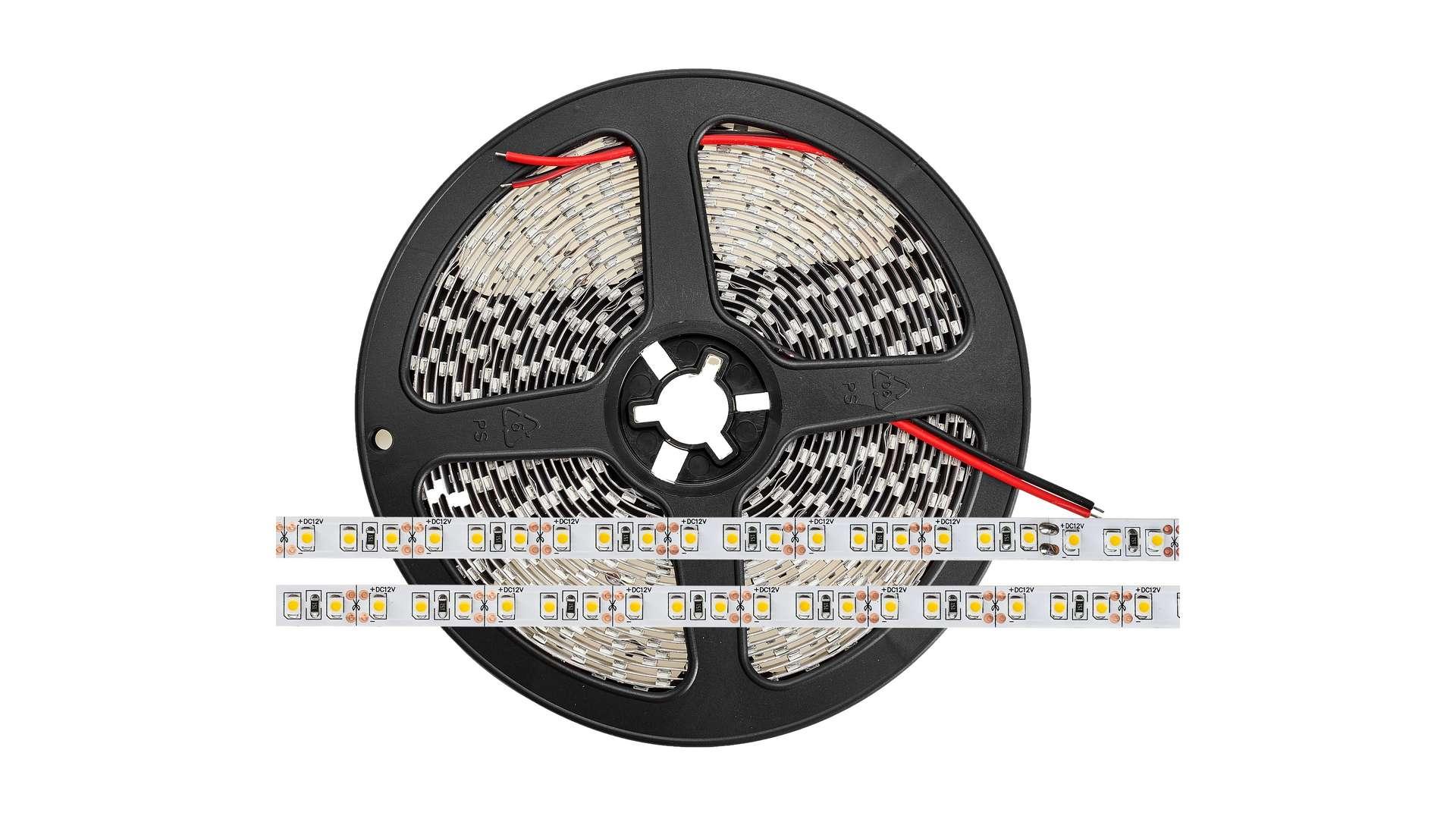 Taśma 600 LED 120 LED/m 3528 SMD, Biały Ciepły