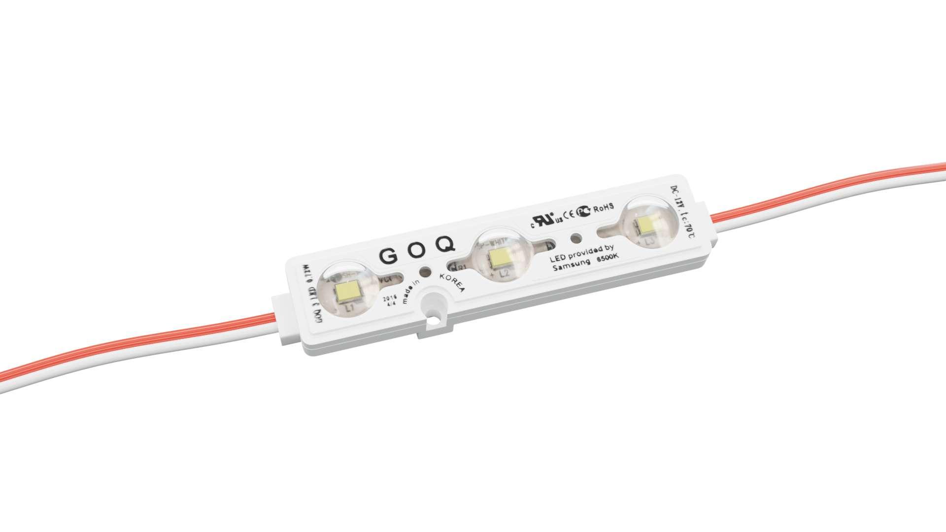 Moduł GOQ SAMSUNG 3x2835SMD 0.72W 150 stopni 6500K