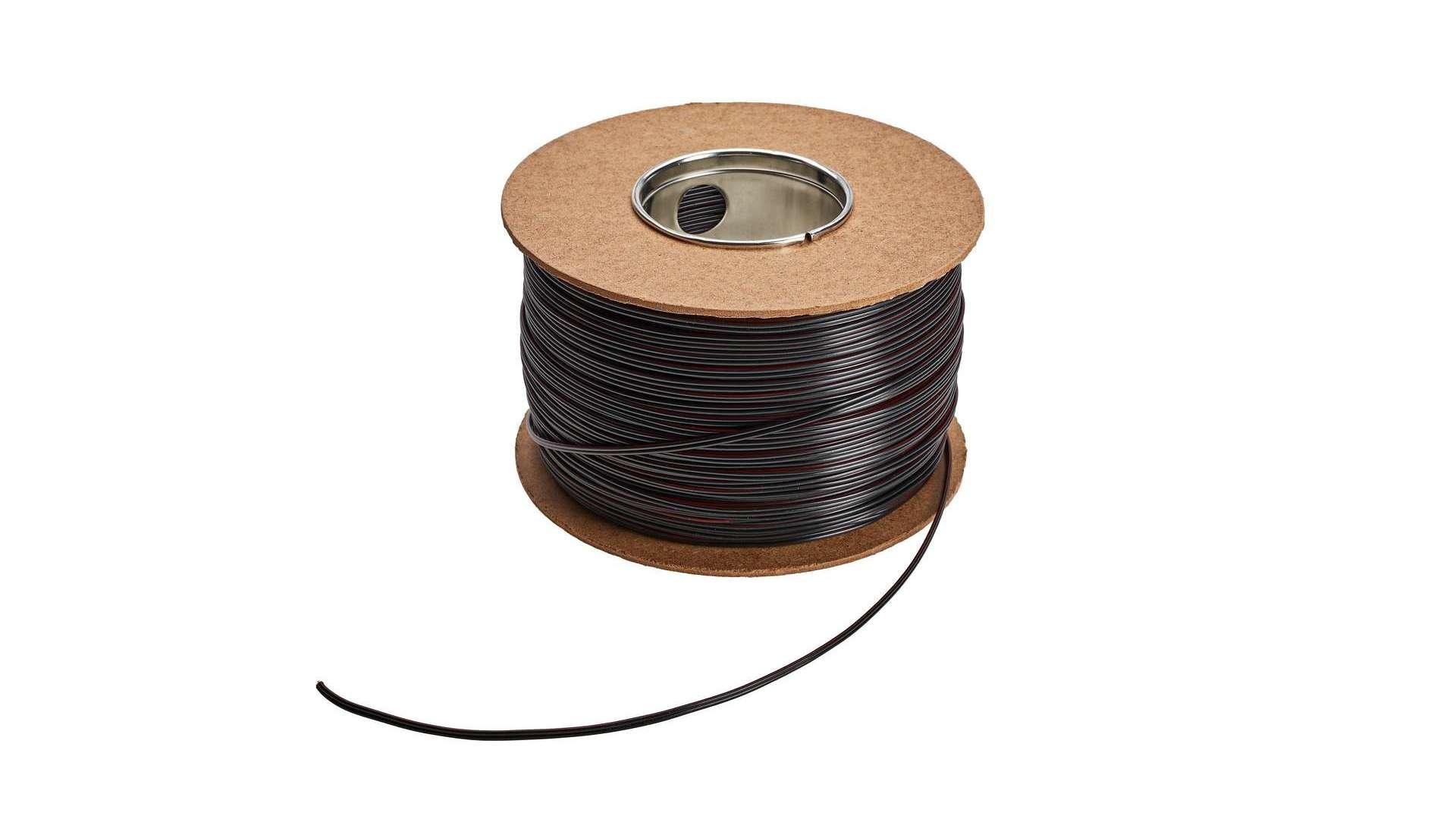 Przewód TLGYp 2x0,35 mm2 czarny