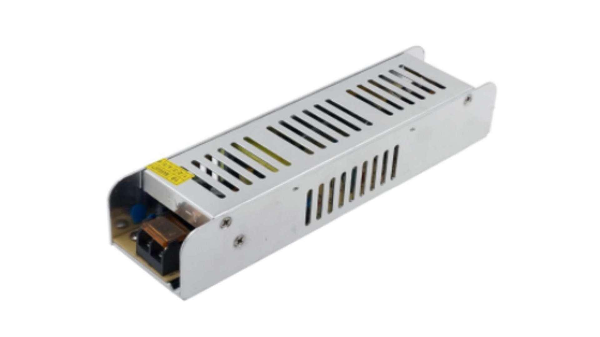 Moduł zasilacza montażowy 12V 250W IP20 SLIM