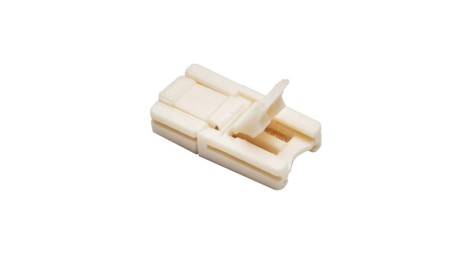 Złącze taśmy LED 8mm 2-stronne z zatrzaskami SLIM