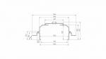 Profil LUMINES typ Largo M4 biały lakier. 3 m