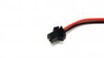 Złącze LED 2 PIN wtyk z przewodem 15cm